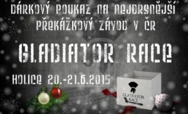 Vánoce 2014 - Dárkový poukaz GLADIATOR RACE